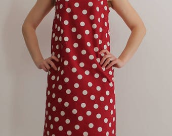 Model years ' 60 cotton dress