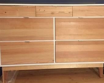 Rustic and Modern - Mid Century Modern Style Dresser