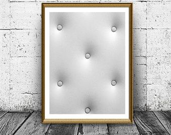 Abstract Print, Minimal Wall Art Print, Black White Print, Printable, Home Decor, Digital Print