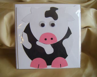 Mr and Miss Cow Cards