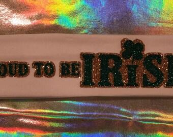 St. Patrick's Day unique headband