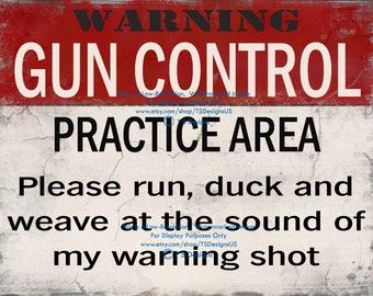 Gun Control Practice Area