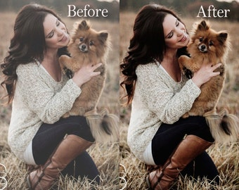 Sharpen and Enhance Photoshop Action - Instant Download