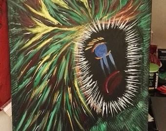 "SCHILDERIJ FRUSTRATION | Painting ""Frustration"""