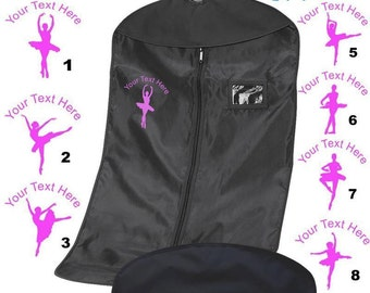 Personalized Monogram/Name Ballet  /Dance /Costume Garment Bag -4 Personalized Garment Bag. Personalized by Custom Team