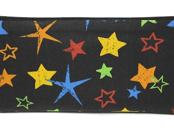Kit pencils in cotton fabric star boy or girl