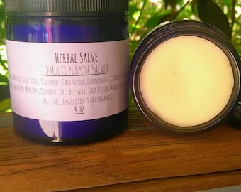 4 oz Herbal Salve