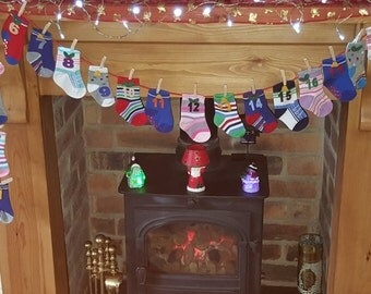 Advent Calendar Socks