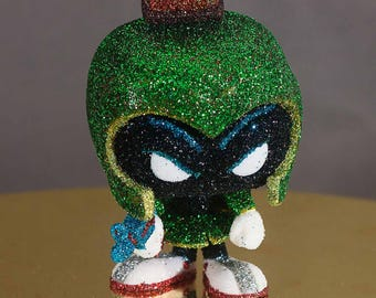 Marvin The Martian glittered Pop Vinyl