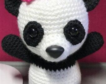 Amigurumi Crochet Panda Bear - Made to Order