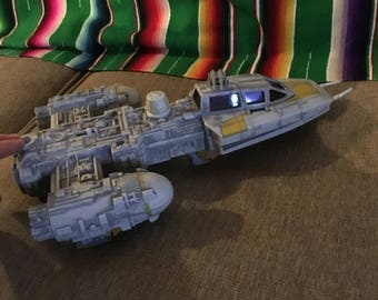 1999 hasbro y wing star wars