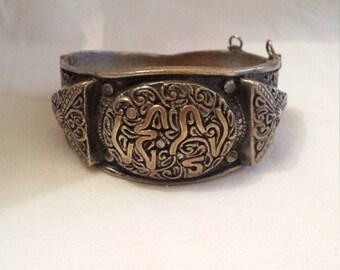 Bracelet Vintage Bronze Magreb, Middle East