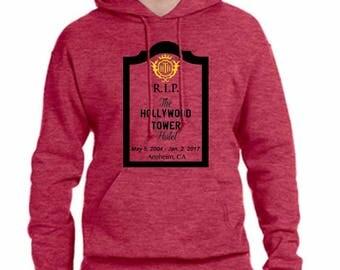 Unisex Disney Hoodie RIP Hollywood Tower of Terror Hoodie Disneyland Hoodie Disney World Sweatshirt shirt Magic Kingdom Hoodie