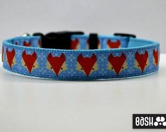 Fox/Retro/Star Wars/Leopard/ Pinky Dots - Dog Collars