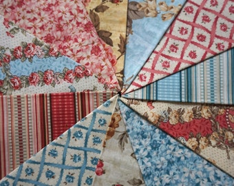 In the Manor by Kaye England for Benartex Fabrics - Fat Quarter Bundle - 11 pieces