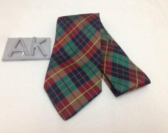 Trussardi Neckties/Checkered Plain Theme/3D Color/Silk Necktie