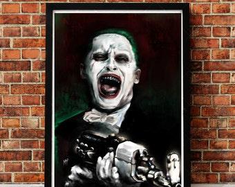 """Joker 13"""" x 19"""""""
