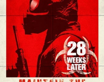 28 Weeks Later 13x19.5 Promo Movie POSTER