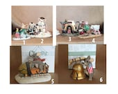 Charming Tales Porcelain Mice - Reserved for Cythina