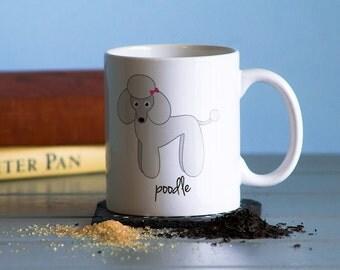 Poodle Mug (girl)