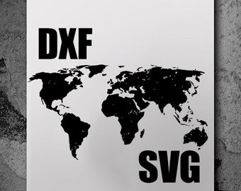 World map dxf etsy world map svg svg files silhouette cameo svg cutting svg file gumiabroncs Images