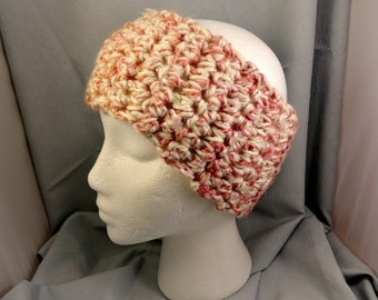 Crocheted Head Band or Neck Warmer