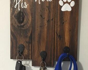 His/Hers/Dog Key Holder