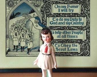 Enesco Girl Scout Brownie Figurine