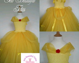 Belle princess ballgown - party - photoshoot - birthday - tulle - Princess - Beauty & the Beast