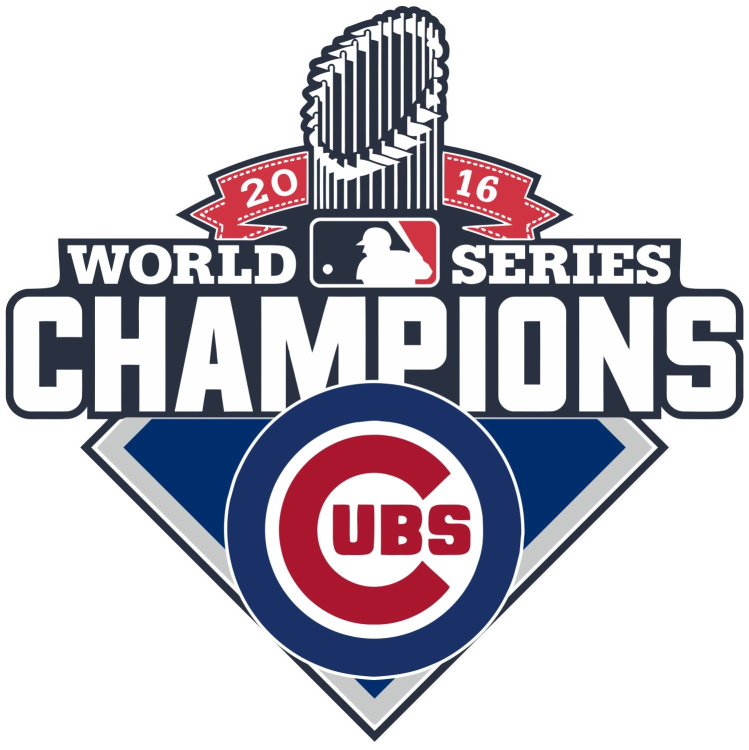 chicago cubs world series coloring pages - chicago cubs world series 2016 champions mlb decal sticker