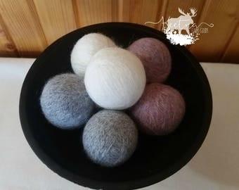 6 Wool Dryer Balls