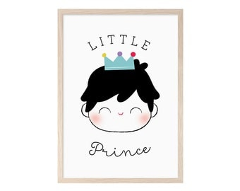 Little Prince. Blade, printable, child, child, Prince, moreno, poster, baby, print, picture