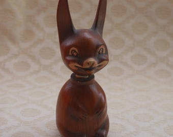 West Germany Rabbit, China Collectible, Perfume Bottle, Rabbit Lover Gift, Vintage Bottle, Animal Ornament, Ladies Vanity Item, Gift For Her