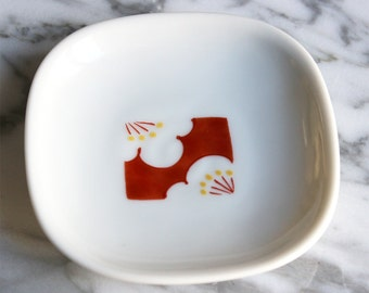 Ring dish - dish - Jewelry dish - plum blossom Trinket - ideal gift