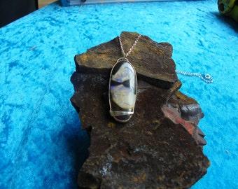Opal (101)Long Opal Pendant Necklace