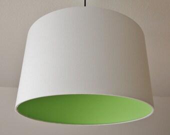 "Lampshade ""Green White"""