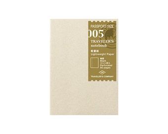 TN Refill - Passport Size - 005 Lightweight Paper