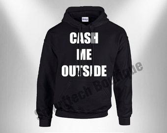 Danielle Bregoli - Cash Me Outside Hoodie Adult Pullover Hooded Sweater / Sweatshirt (Hoodie)