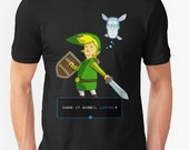 King of the Hill - Link from Zelda and Navi - Parody - Dang it Bobby, Listen! shirt || Unisex Soft Tee / Link / Funny / Gamer / Gift