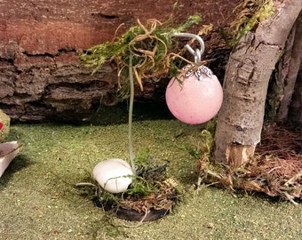 Fairy Garden Lantern, Glow Garden Lantern, Fairy Lantern, OOAK Fairy Lantern, Fairy Lights, Fairy Garden Accessory, Fairy Garden Lights