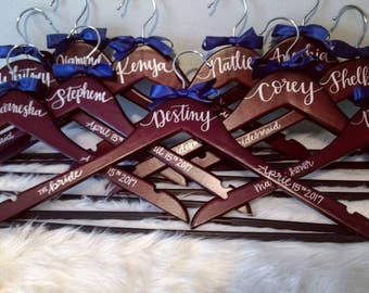 Bridal, Bridesmaid, Hanger(s) ***FREE Shipping w/ purchase of 25 dollars or more*** mother of the bride, groom, flower girl