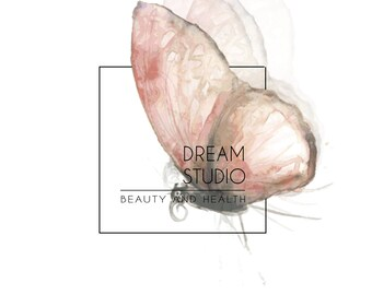 Logo Design, Custom logo design, Studio logo,  Salon logo, Beauty logo, Butterfly logo, Photography Logo,   Business Logo