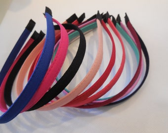 Women Plain Alice band headband faux leather hair head band accessory diy is for sale. various colours. sold by per headband