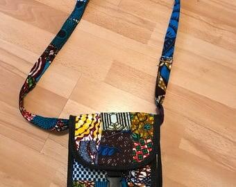 African print messanger bag