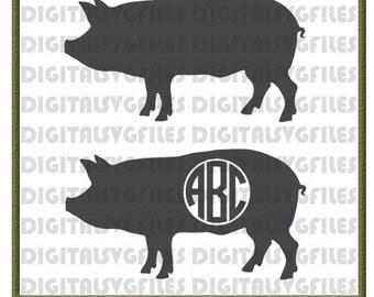 Show Pigs svg, Farm Animal svg, Pig svg, Pig Vector File File, Show pigs Vector Cutting Files Farm Animals svg Files Show Pig dxf Files