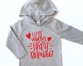 Valentine shirt for boys, Boys Valentine shirt, Valentine shirt for girls, kids Valentine shirt, Mr Heartbreaker shirt, valentine hoodie