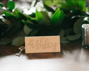 Custom place cards for weddings/special occasions