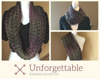THREE COLORS AVAILABLE Braided Infinity Scarf