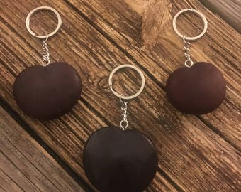 Lucky sea heart keychains