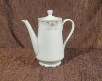 Alberon translucent fine china teapot, free shipping